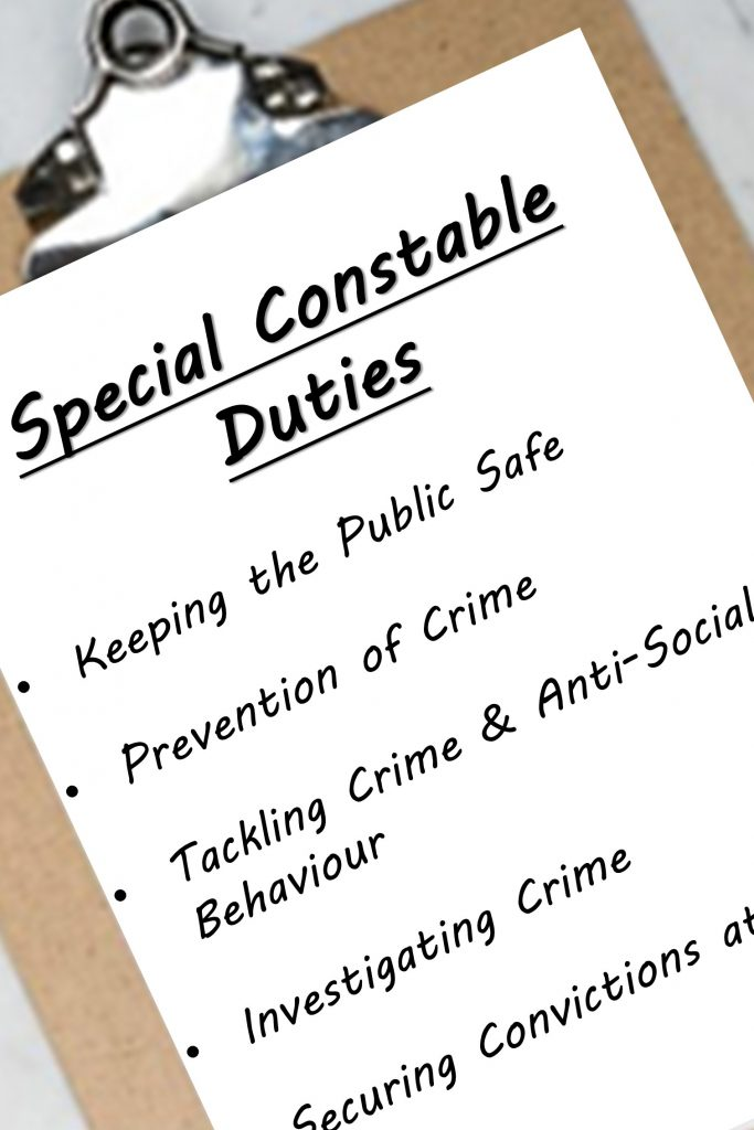 What do Special Constables do? How to become a Special Constable. Steps to becoming a Special Constable