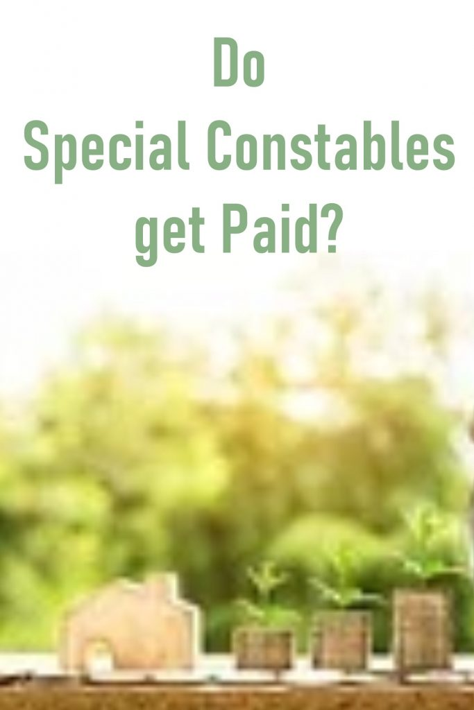 do special constables get paid